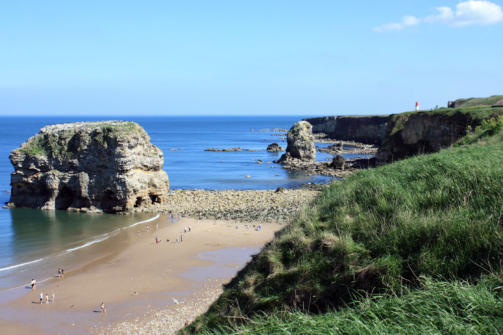 Marsden Bay near South Shields.