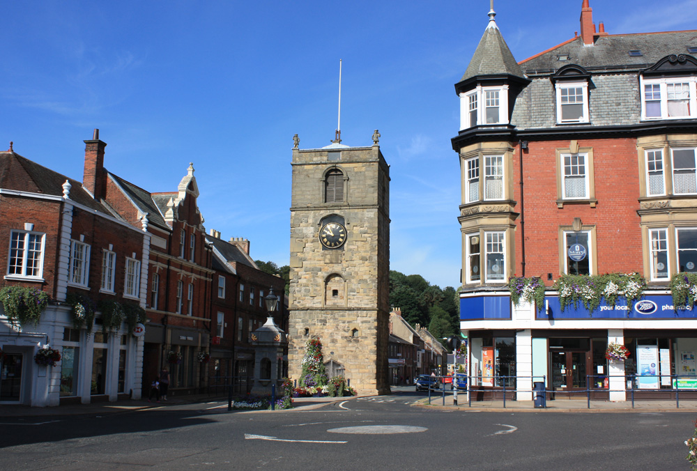 Morpeth Clock Tower.