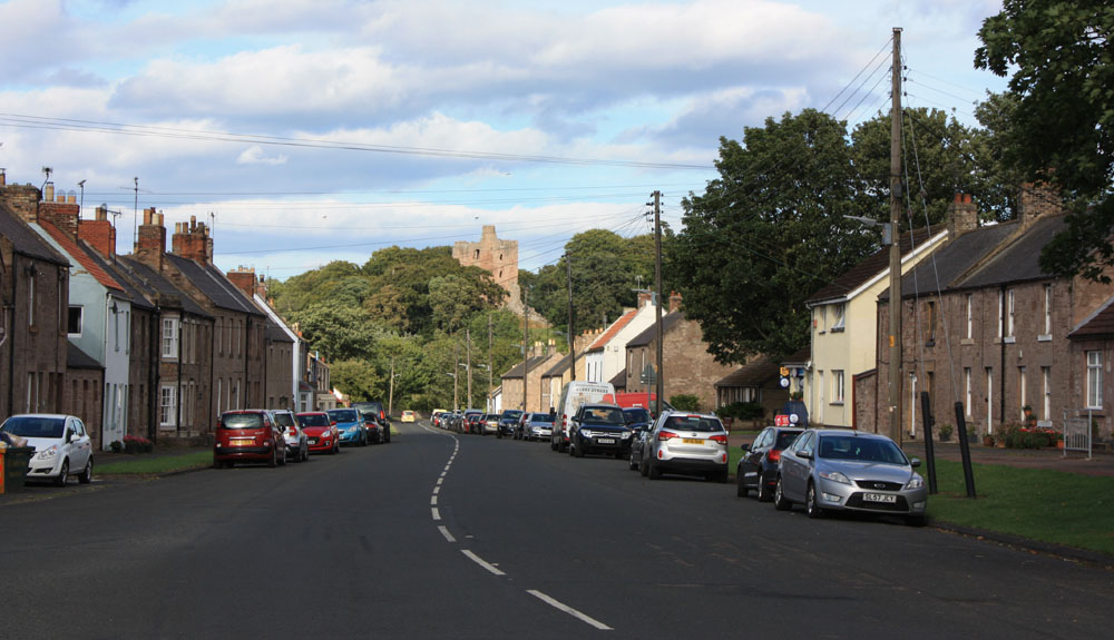 Norham village and castle