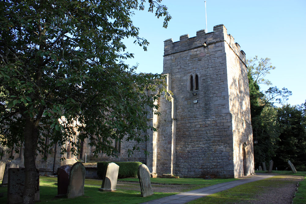 The 'Black Church' of St Peter, Bywell.