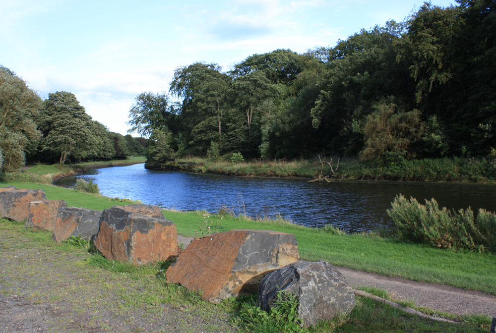 River Wansbeck near Sheepwash, Ashington.