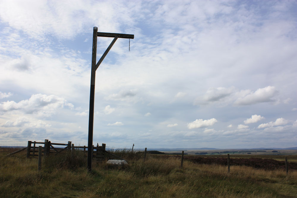 Winter's Gibbet, near Elsdon
