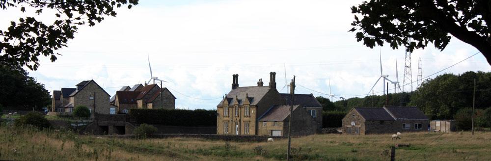 Woodhorn village
