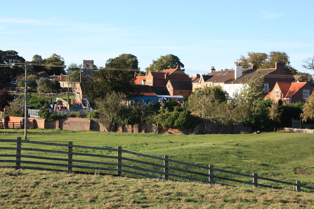 Bishopton village from Castle Hill