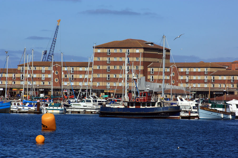 The marina, Hartlepool