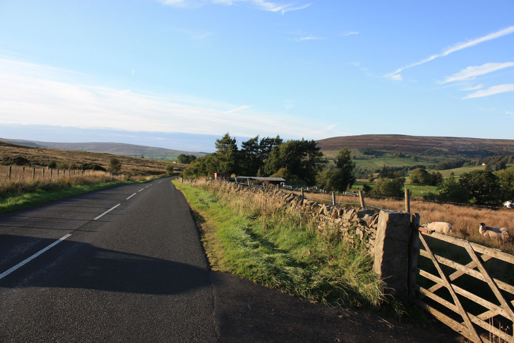 South Tynedale scenery