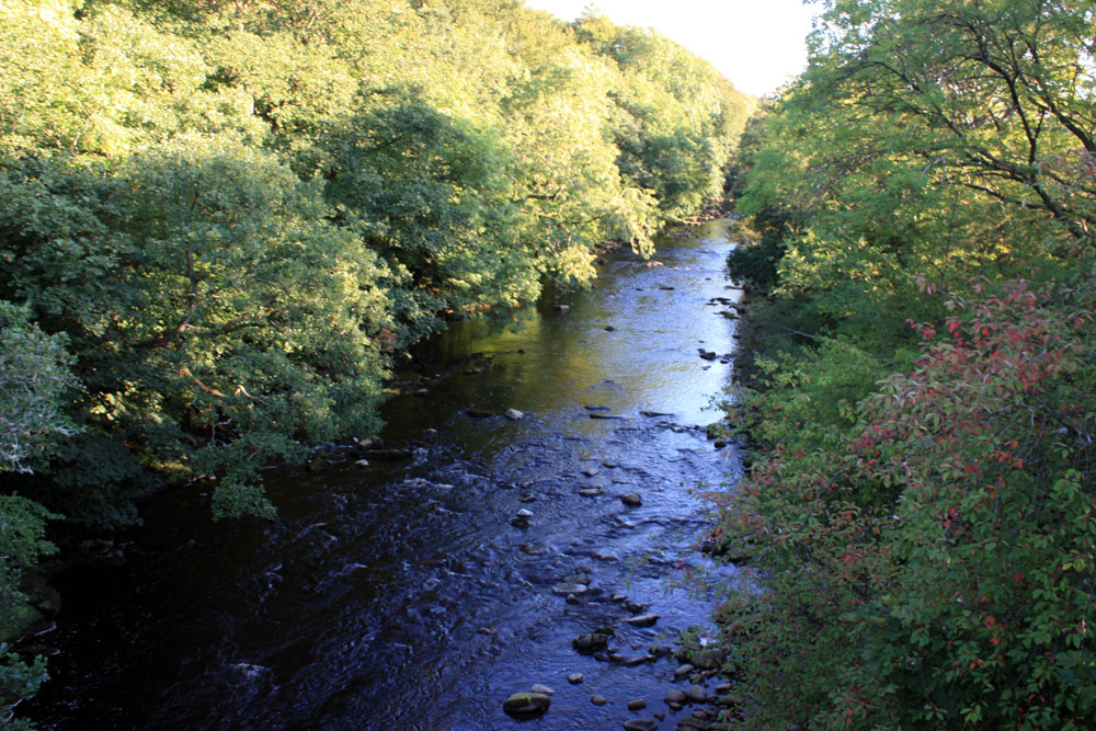 The South Tyne at Alston