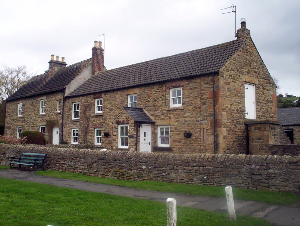 Stone houses, Lanchester village
