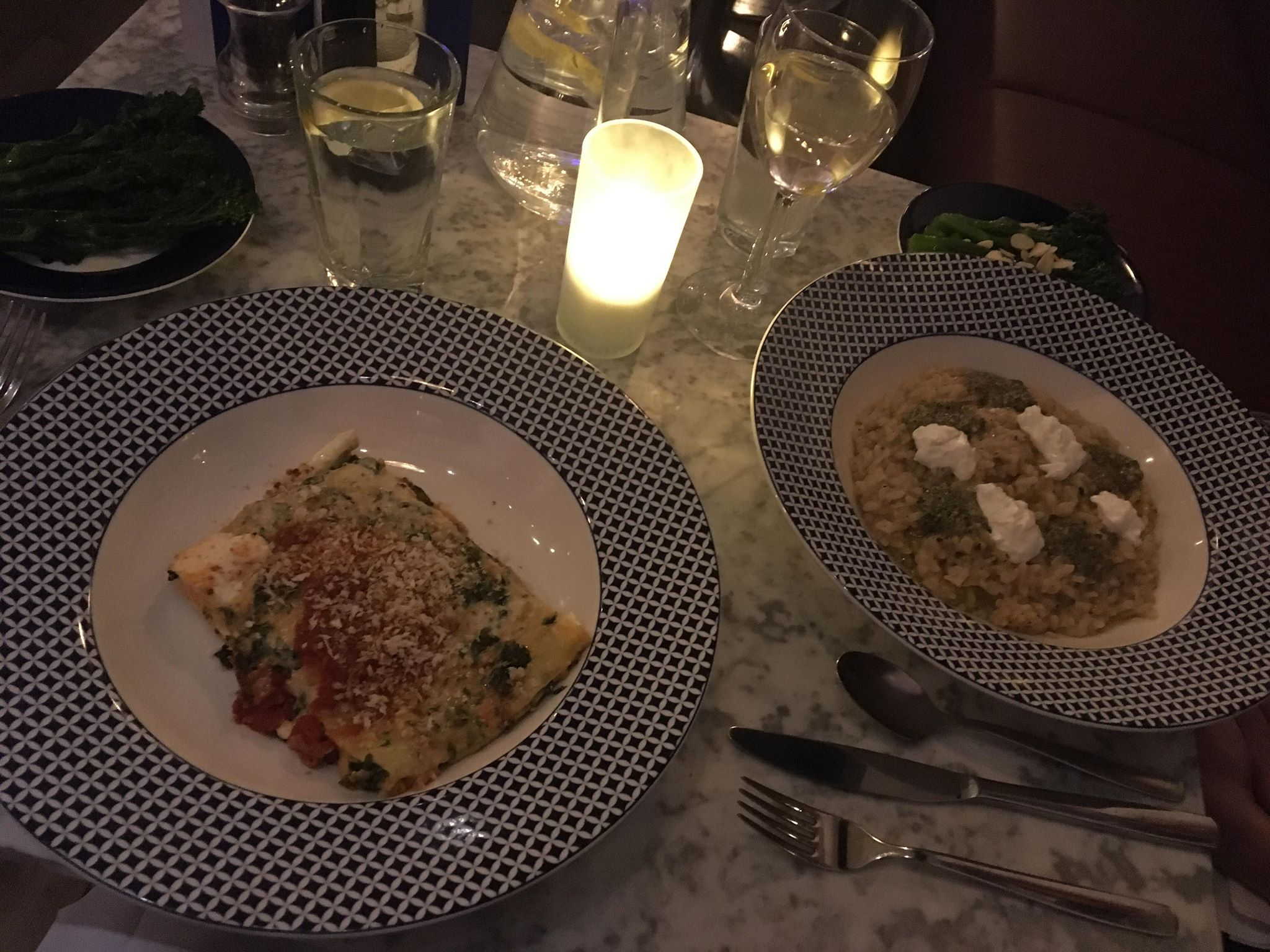 Dining at Carluccios