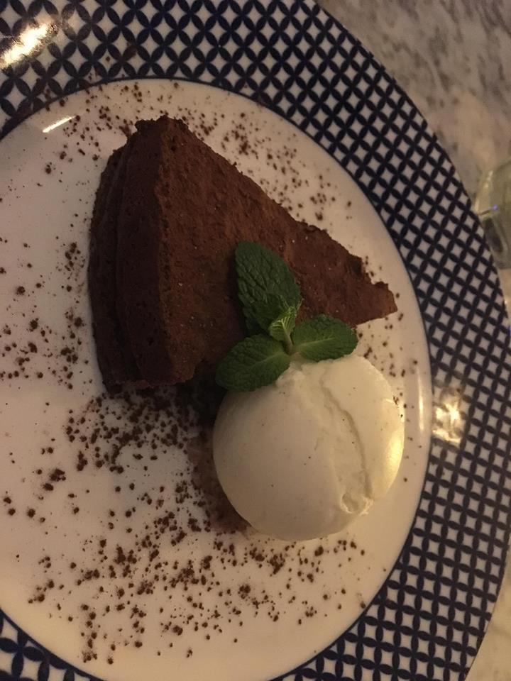 Torta di cioccolata. Carluccios