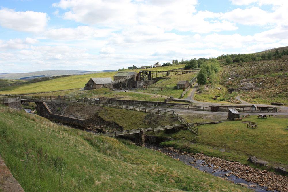 Killhope Wheel lead mining museum