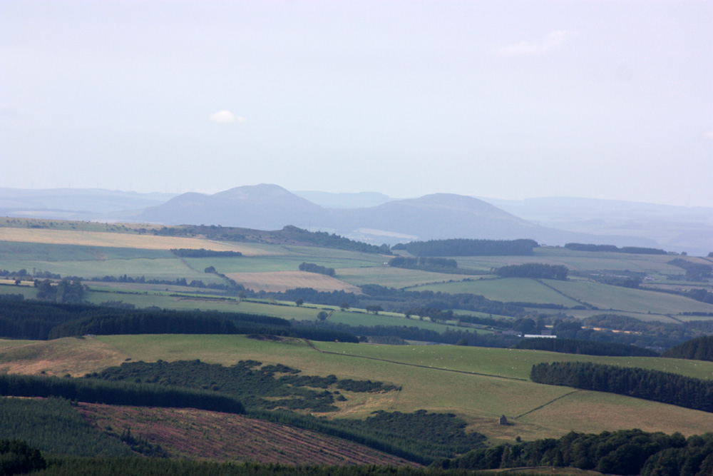 Eildon Hills from Carter Bar