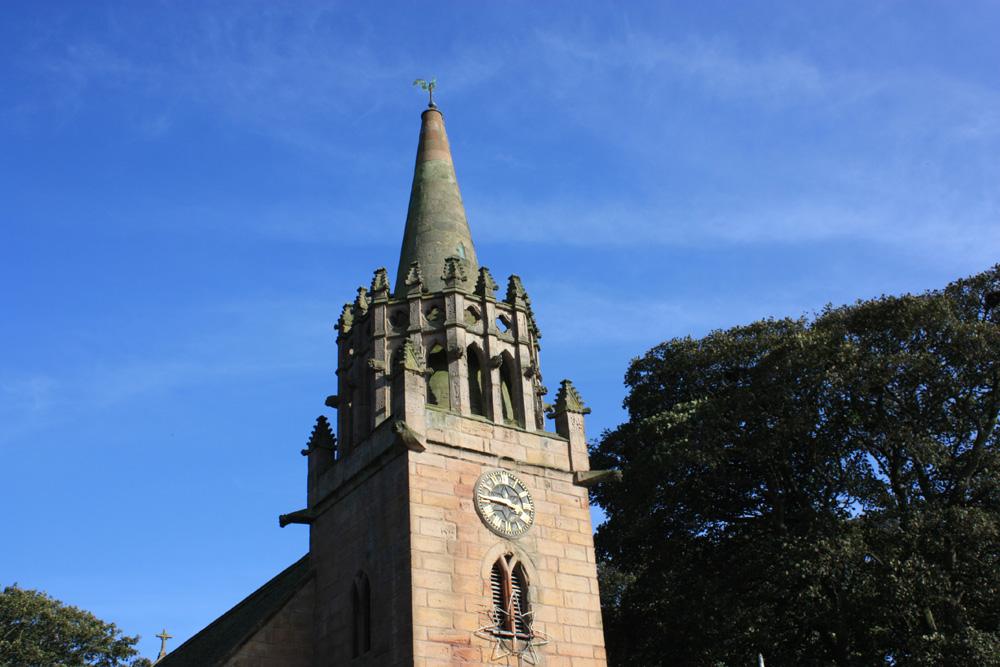 Beadnell church