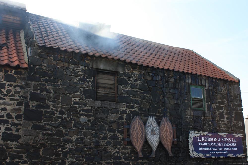 Kipper smokery at Craster