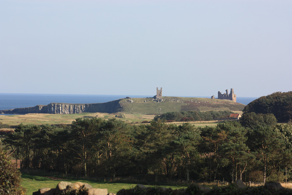 Dunstanburgh Castle from Embleton