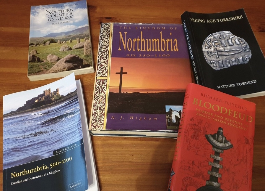 Books about the Kingdom of Northumbria