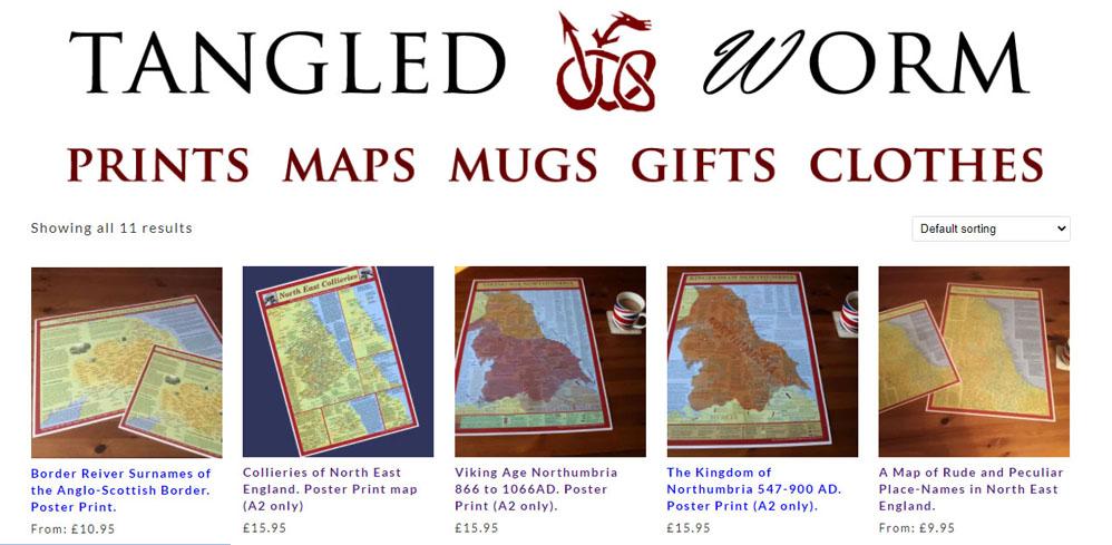 Tangled Worm maps