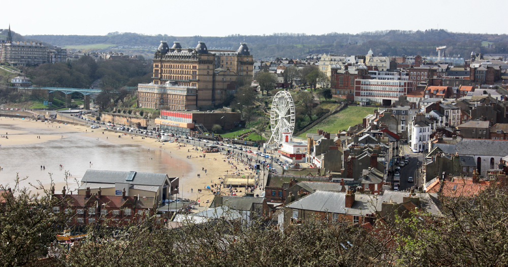 The town of Scarborough