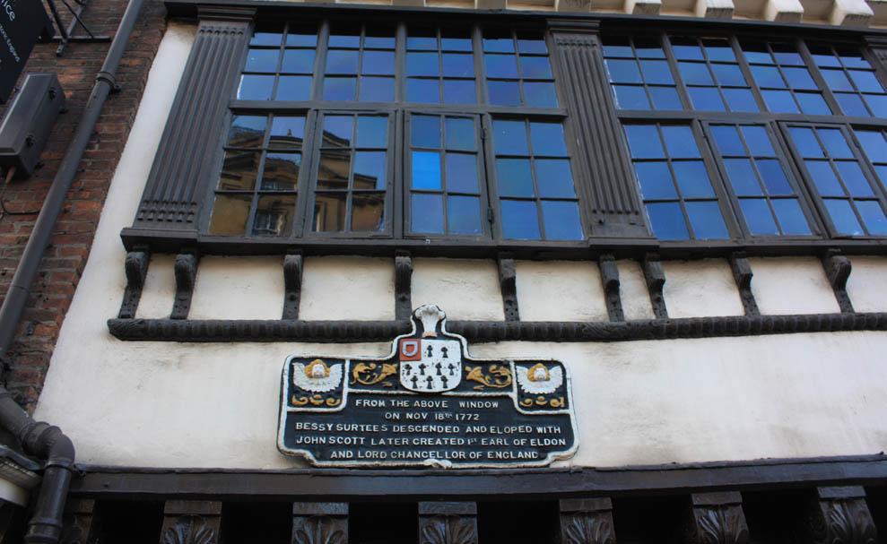 Bessie Surtees window, Newcastle
