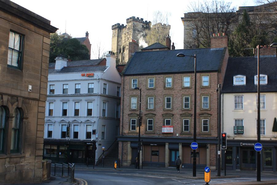 Newcastle Castle Castle Stairs