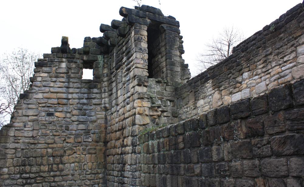 Corner Tower, Newcastle town walls