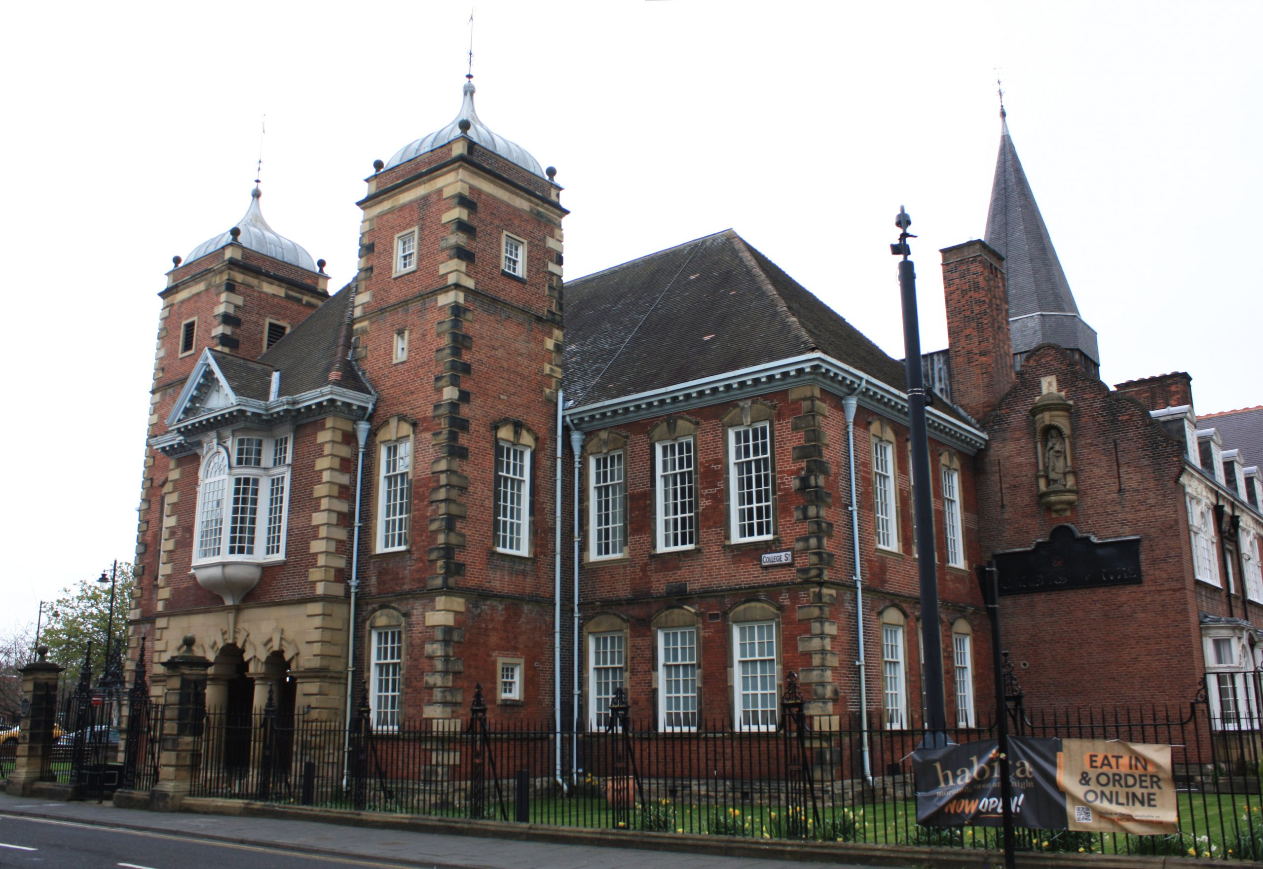 Former Dame Allan's Chools building, College Street Newcastle