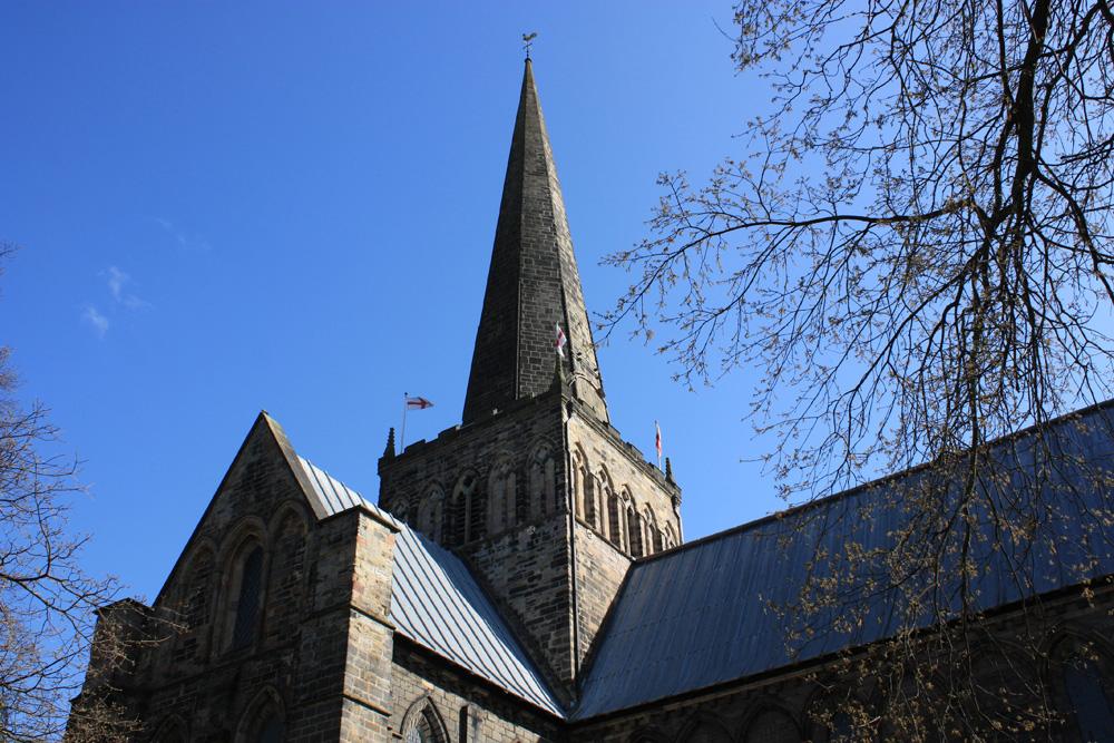 Darlington 'broach upon the steeple'