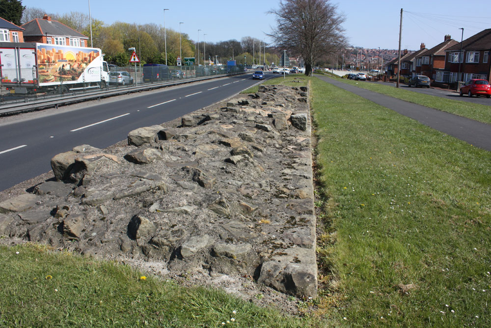 Remnants of the Roman Wall, Denton West