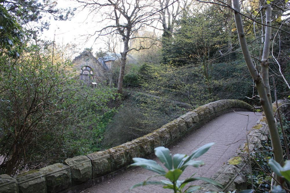 Jesmond Dene, bridge and Armstrong's Banqueting House