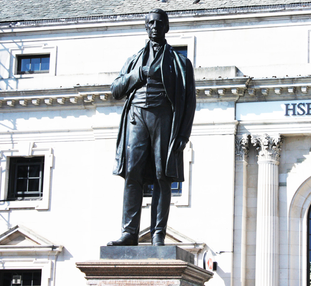 Edward Pease statue, Darlington