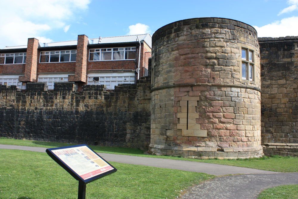 Morden Tower, Newcastle Town Walls