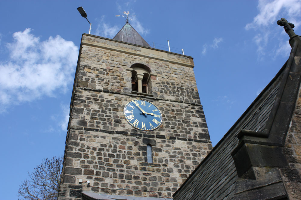 Newburn church tower