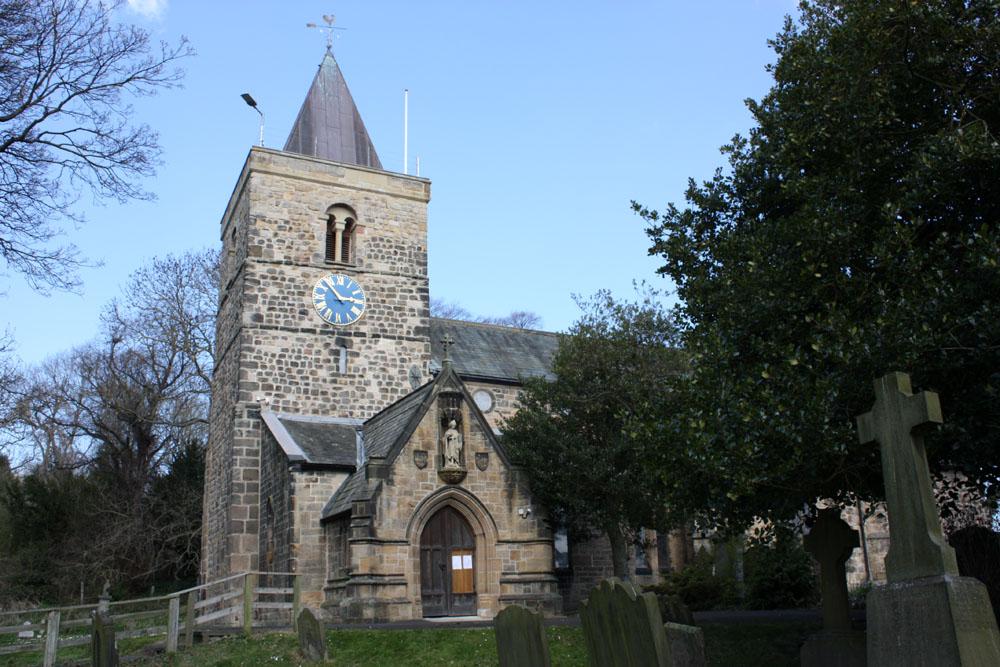 Newburn church