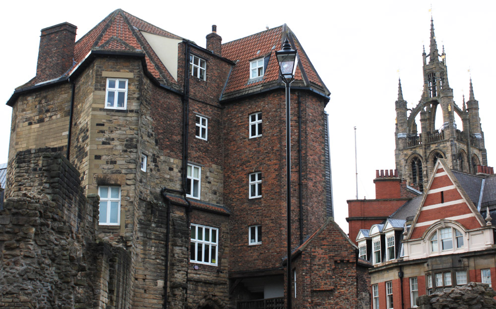 Newcastle Blackgate and St Nicholas Cathedral