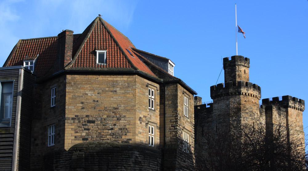 Newcastle Castle including the Blackgate