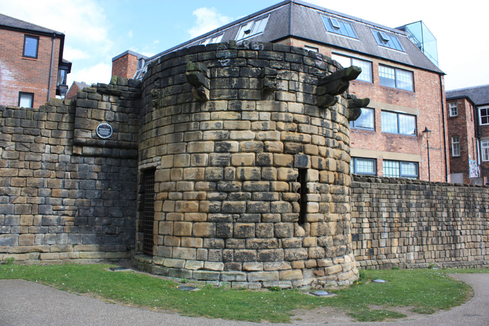 Durham Tower Newcastle Town Walls