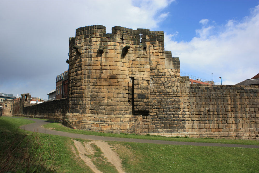 Heber Tower, Newcastle town walls