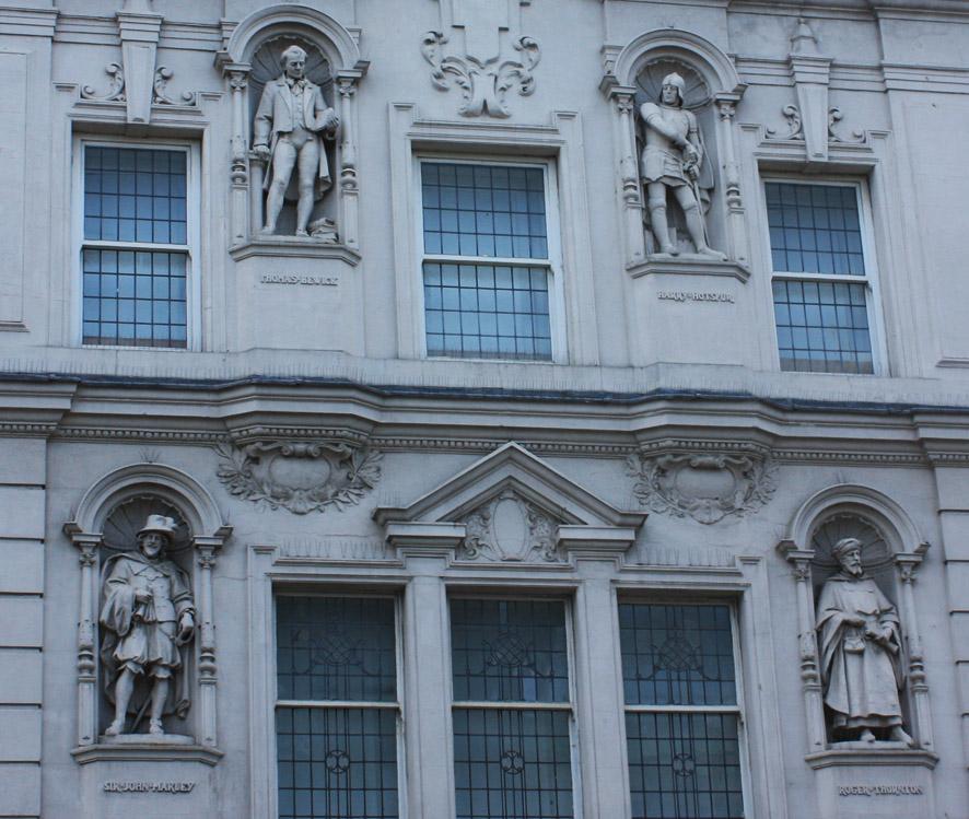 Figures, Northumberland Street