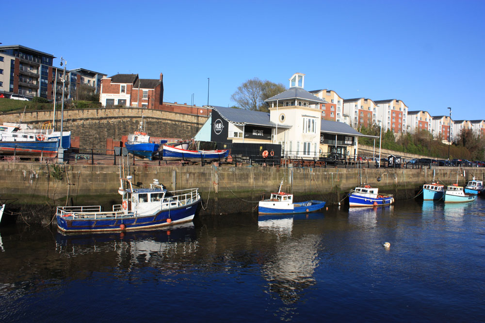 Mouth of the Ouseburn