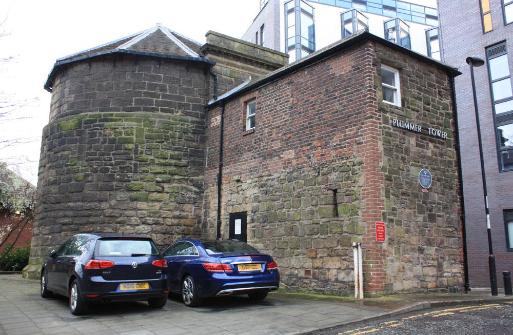 Plummer Tower, Newcastle Town Walls