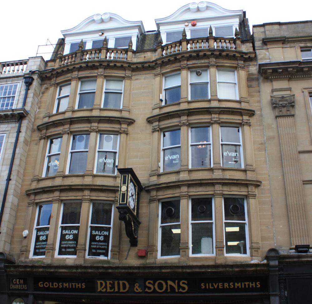 Reid jewellers, Blackett Street, Newcastle