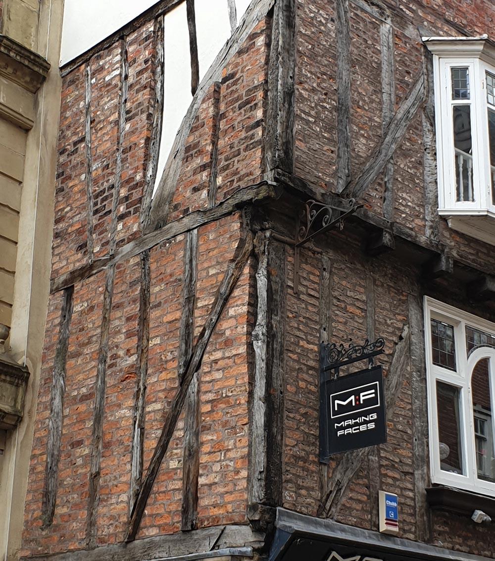 Timber-framed building, Silver Street, Durham