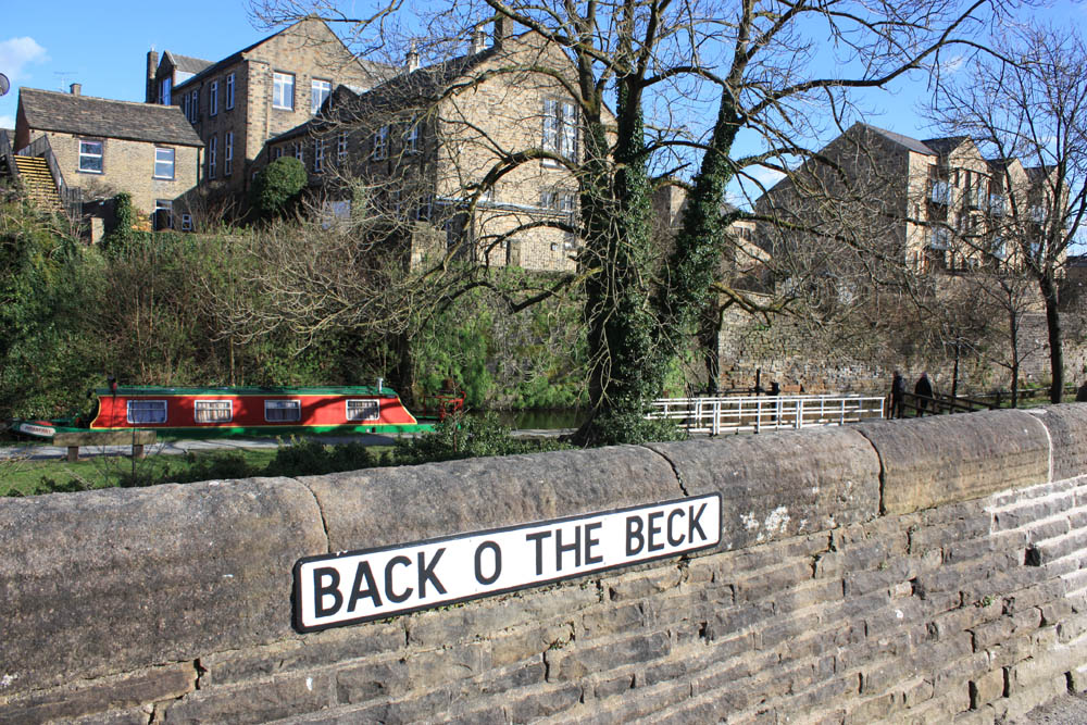 Skipton and canal