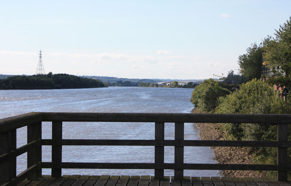 River Tyne at Elswick
