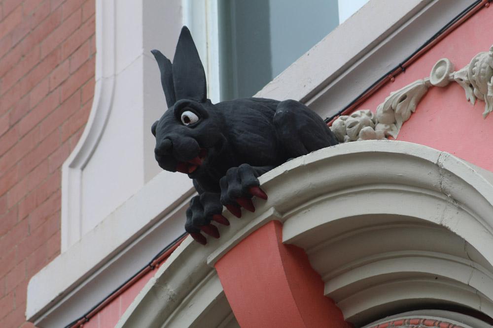 Vampire Rabbit St Nicholas churchyard, Newcastle