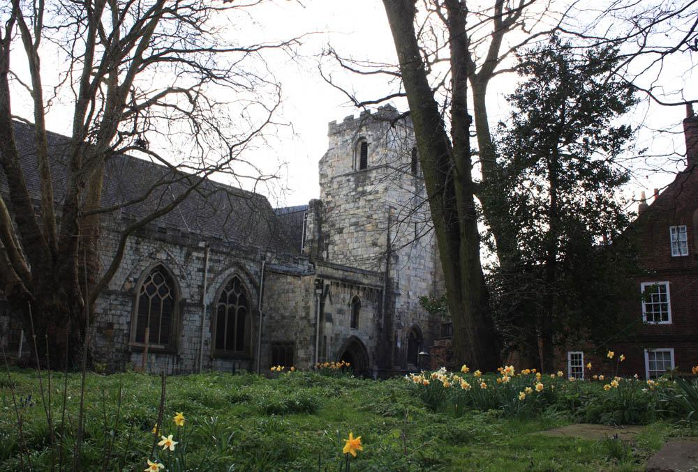 Priory church, Holy Trinity, York