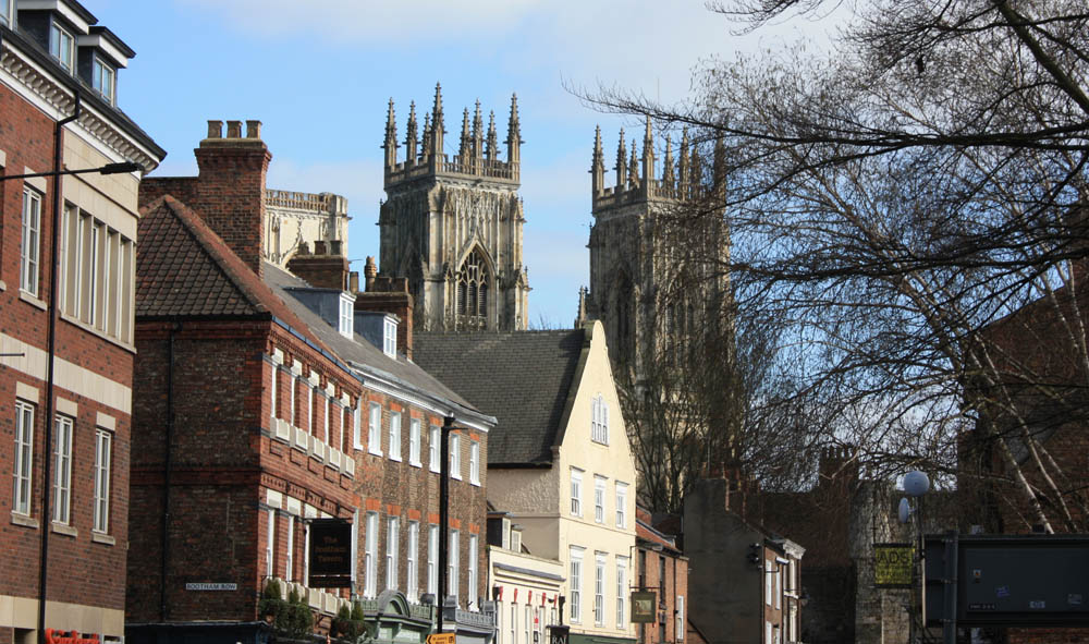 Marygate and York Minster
