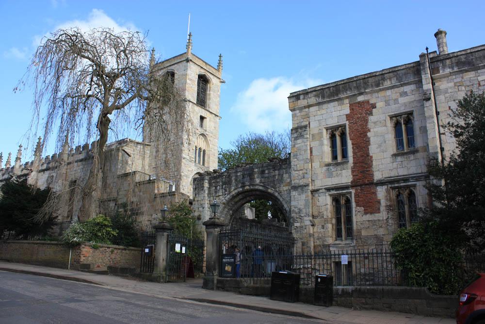 York, St Mary's Abbey