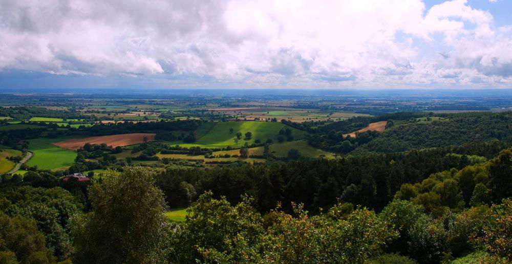 Kilburn White Horse view