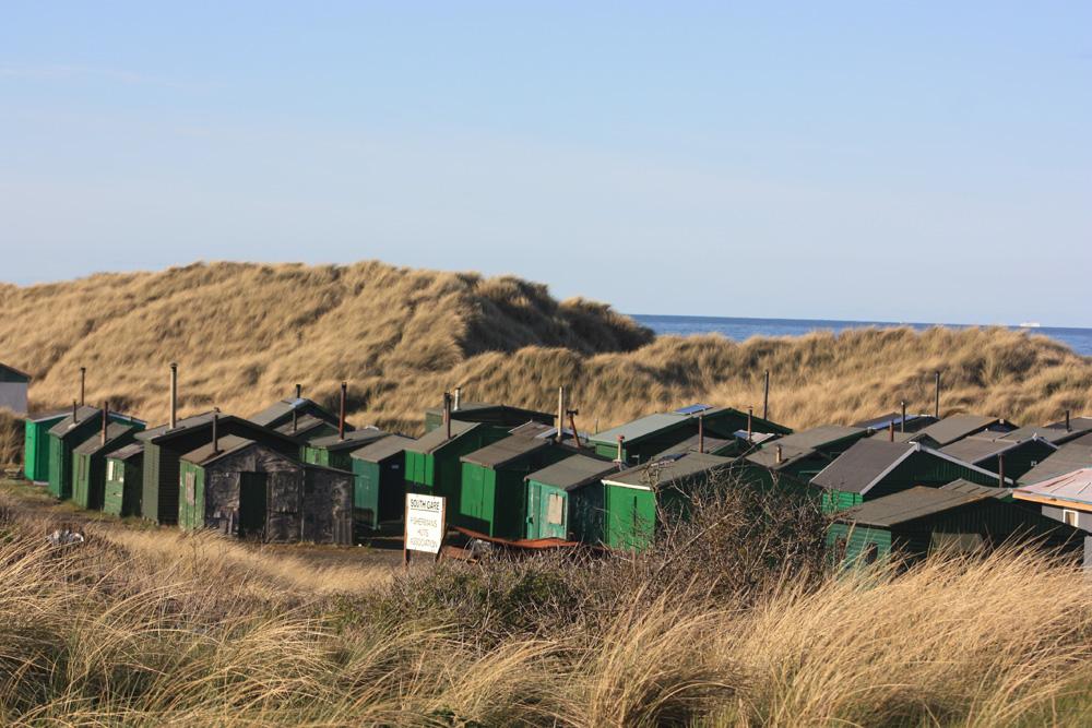 Fishermen's huts, South Gare